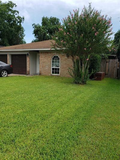 League City Single Family Home For Sale: 1820 Eagle Drive