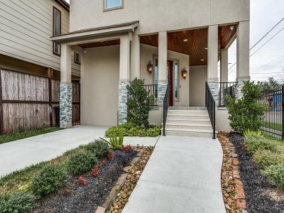Houston Single Family Home For Sale: 1035 Herkimer Street