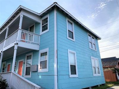 Galveston Rental For Rent: 2508 39th Street #3