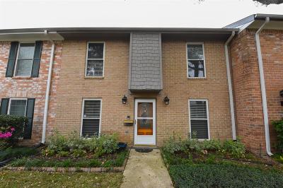Houston TX Condo/Townhouse For Sale: $249,900