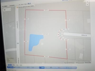 Eagle Lake Residential Lots & Land For Sale: 1100 Willis Street