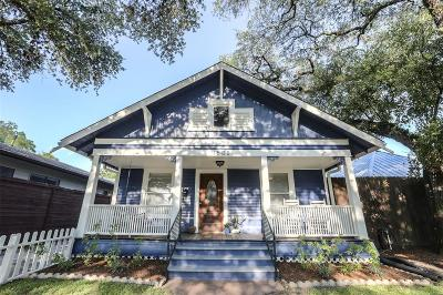 Houston Single Family Home For Sale: 1508 Rutland Street