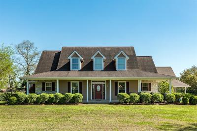 Alvin Single Family Home For Sale: 4211 County Road 182
