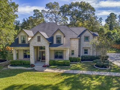 Conroe Single Family Home For Sale: 8714 Sunset Heights Lane