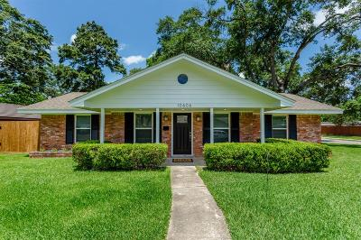 Galveston County, Harris County Single Family Home For Sale: 10606 Brinwood Drive