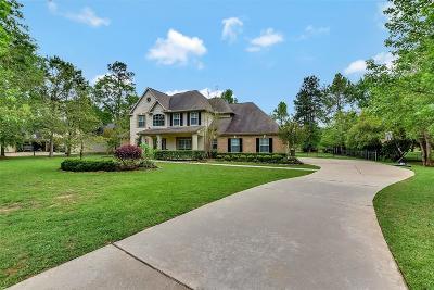 Magnolia Single Family Home For Sale: 12227 E Border Oak Dr Drive