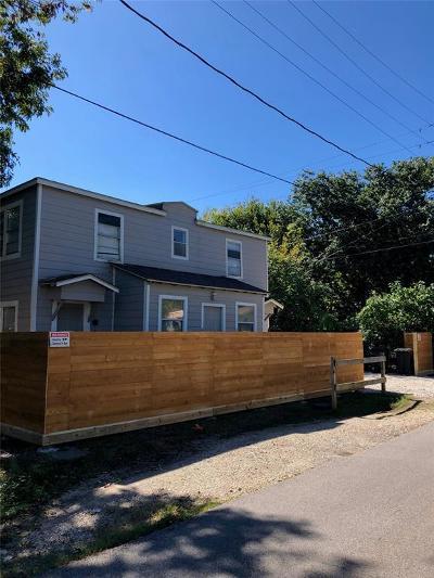 Houston Multi Family Home For Sale: 302 Rhode Island Street #4