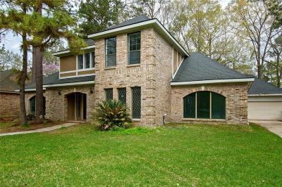 Kingwood Single Family Home For Sale: 5211 Windy Lake Drive