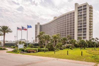 Galveston Mid/High-Rise For Sale: 1401 E Beach Drive #1206