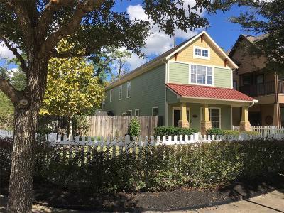 Houston Single Family Home For Sale: 4958 Vista Village Lane