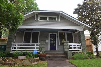 Houston Single Family Home For Sale: 918 Merrill Street