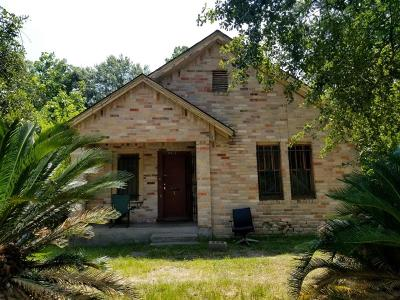 Houston TX Single Family Home For Sale: $59,000