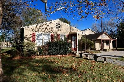 Tomball Single Family Home For Sale: 107 N Pine Street