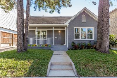 Houston Single Family Home For Sale: 321 W Polk Street
