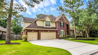 The Woodlands Single Family Home For Sale: 154 W Evangeline Oaks Circle