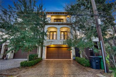 Houston TX Single Family Home For Sale: $760,000