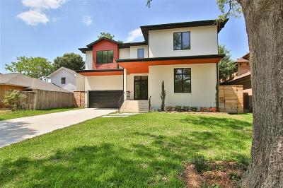 Bellaire Single Family Home For Sale: 4620 Valerie Street