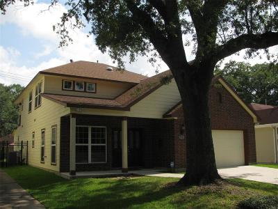 Houston Single Family Home For Sale: 2322 Southgate Boulevard
