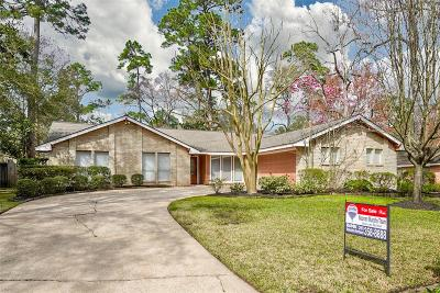 Kingwood Single Family Home For Sale: 3611 Fawn Creek Drive