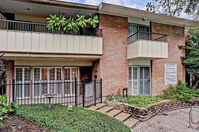 Houston Condo/Townhouse For Sale: 6310 Crab Orchard Road