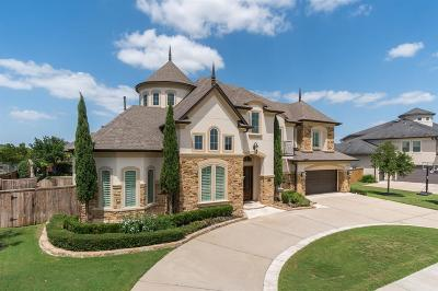 Katy TX Single Family Home For Sale: $1,095,000