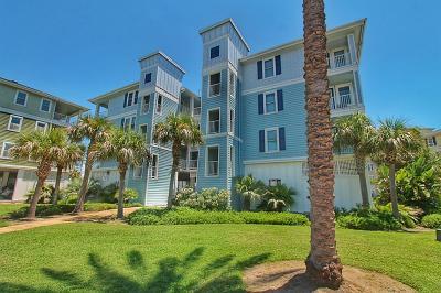 Galveston Condo/Townhouse For Sale: 4131 Pointe West Drive #201
