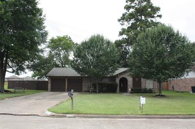 Humble Single Family Home For Sale: 3611 Drawbridge Drive