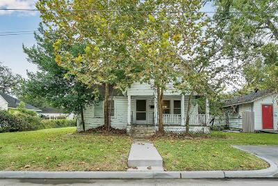 Humble Single Family Home For Sale: 612 2nd Street