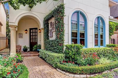 Houston Single Family Home For Sale: 100 S Creekside Court