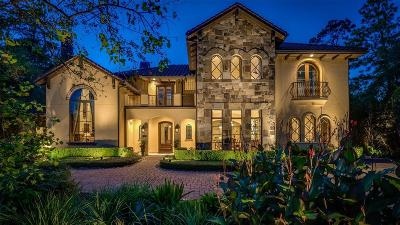 The Woodlands TX Single Family Home For Sale: $1,995,000