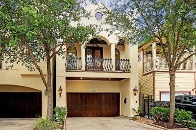 Houston Single Family Home For Sale: 1334 Alexander Street