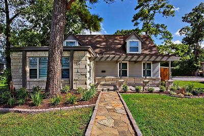 Houston Single Family Home For Sale: 1005 Fairbanks Street