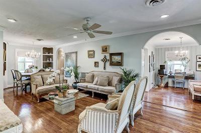Houston Single Family Home For Sale: 5542 Jessamine Street