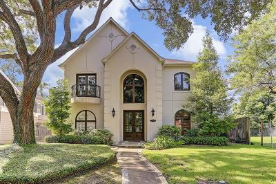 Houston Single Family Home For Sale: 3724 Wroxton Road