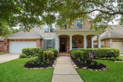 Katy Single Family Home For Sale: 3718 Sunset Manor Lane