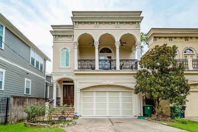 Houston Single Family Home For Sale: 1113 W 16th Street #B