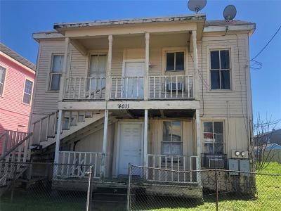 Galveston Single Family Home For Sale: 4011 Ball Street