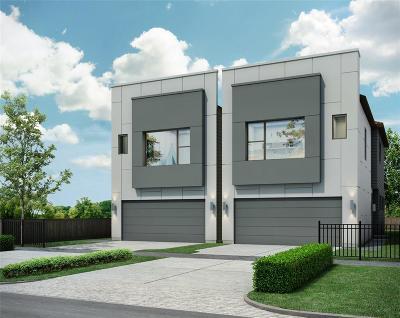 Houston Single Family Home For Sale: 3516 Bastrop Street