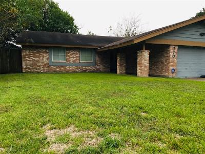 Houston Single Family Home For Sale: 7707 Lawn Wood Lane