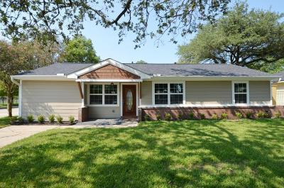 Houston TX Single Family Home For Sale: $374,000