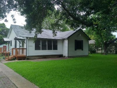 La Marque Single Family Home For Sale: 2202 Oaklawn Drive