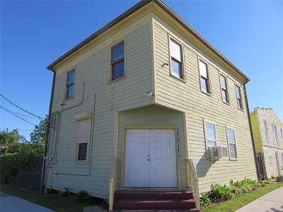 Galveston Multi Family Home For Sale: 2828 Church Street
