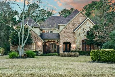 Magnolia Single Family Home For Sale: 9834 Clubhouse Circle