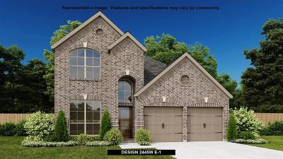 Manvel Single Family Home For Sale: 2208 Blackhawk Ridge Lane