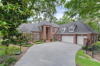 The Woodlands TX Single Family Home For Sale: $850,000