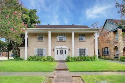 Houston Single Family Home For Sale: 1901 E Marshall Street