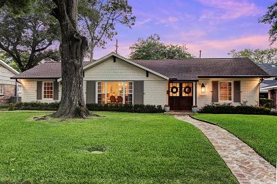Houston Single Family Home For Sale: 5646 Overbrook Lane
