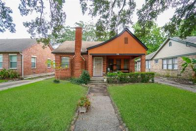 Houston Single Family Home For Sale: 2705 Eagle Street