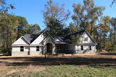 Huffman Single Family Home For Sale: 25518 Wildwood Lane