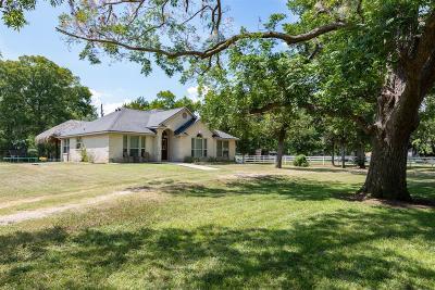 Simonton Single Family Home For Sale: 1021 Wagon Road